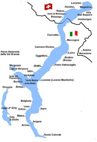 Lago Maggiore Karte.Der Lago Maggiore